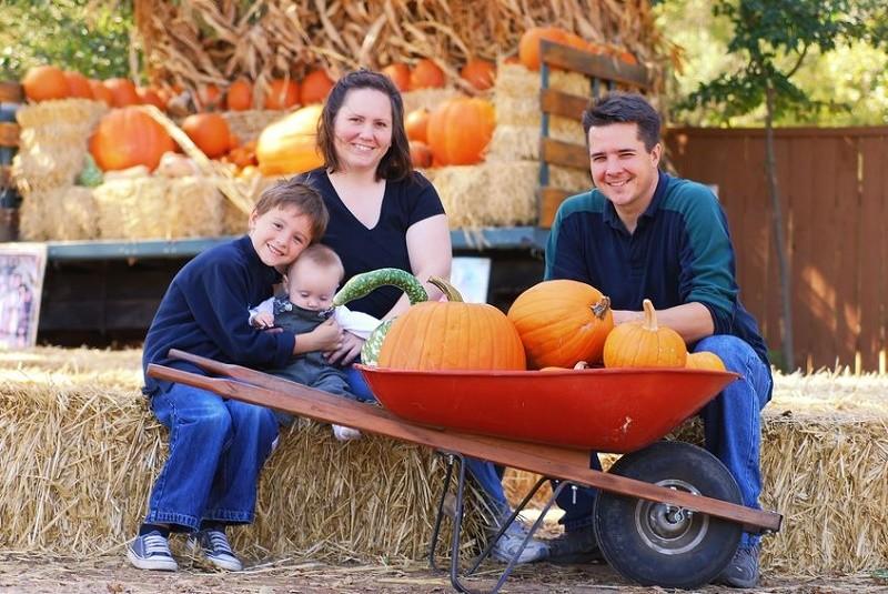 Going to a pumpkin patch