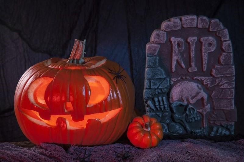 Go to a creepy Halloween party