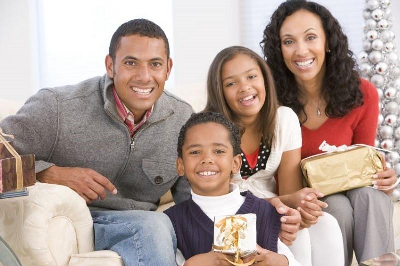 Sing carols to long distance family members