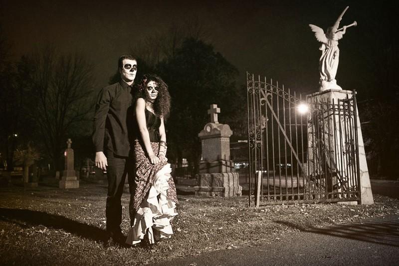 Take a stroll through a graveyard
