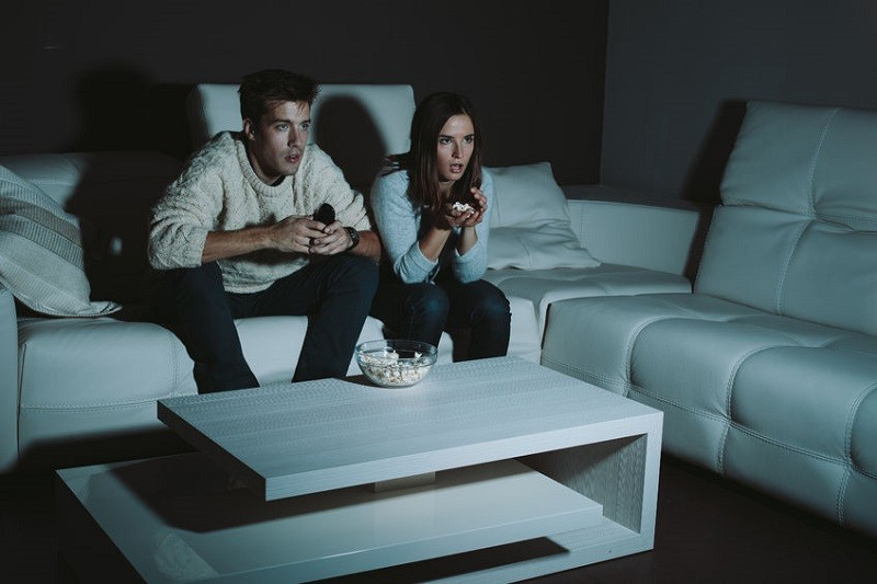 Watch horror movies together