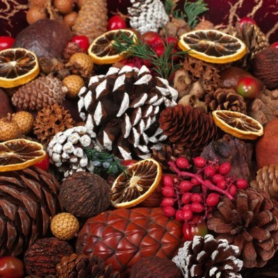 Winter Potpourri Centerpiece