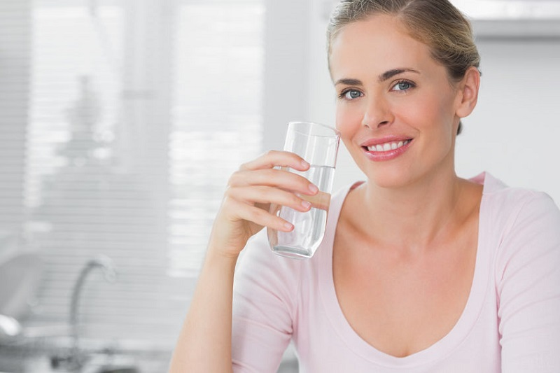 You don't drink enough water each day