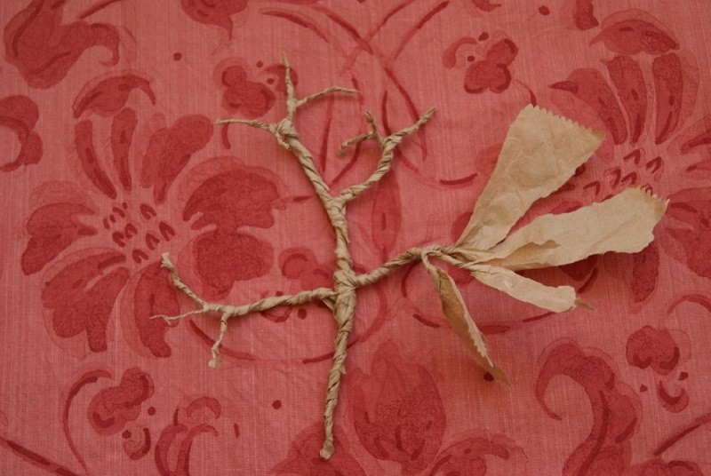 Paper Bag Tree - How to Make a Paper Tree From a Brown Lunch Bag ... | 536x800