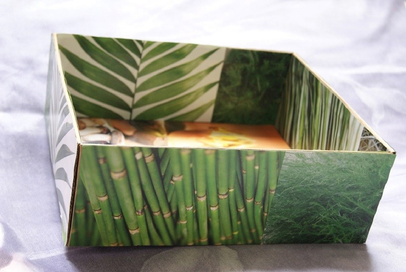 Collage-Style Storage Box 2