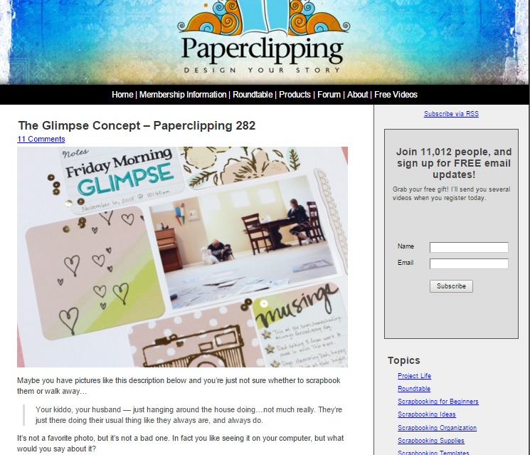 Paperclipping