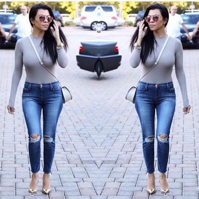 Skinny jeans Kourtney Kardashian