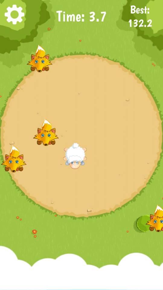 Fleeing-Sheep