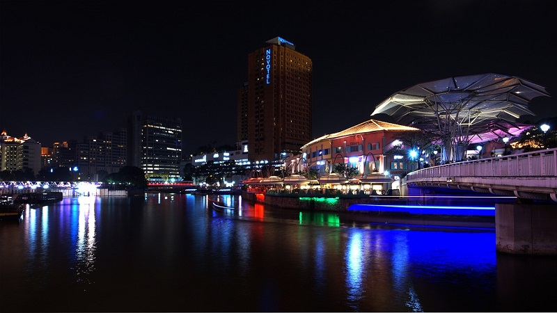 Clarke Quay and Boat Quay